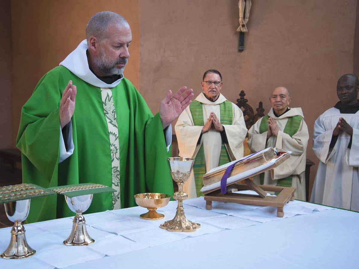 The Holy Mass is offered for the good of all peoples by Fr. Christian