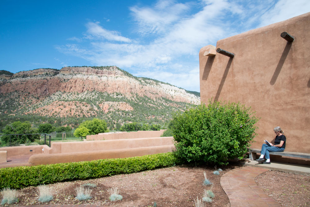 Meditation garden and Gallina Mesa