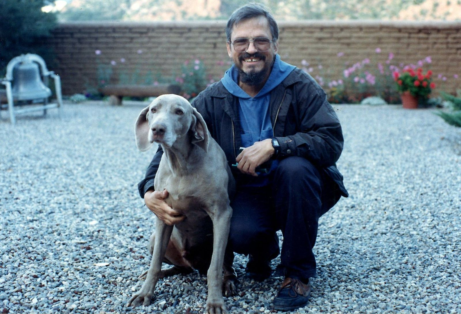 Abbot Philip with Guido (1993)