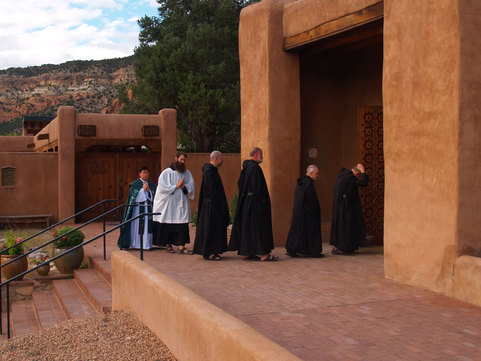 Procession for Vespers and Benediction