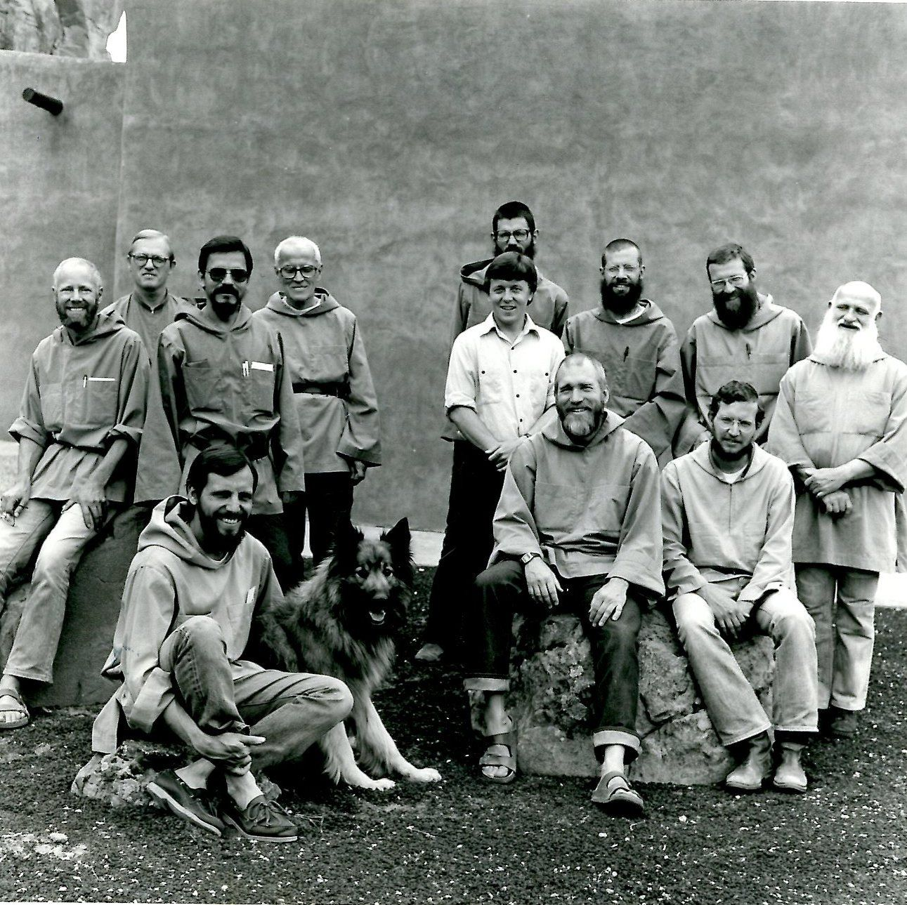 Monastic community in 1983