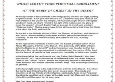 Explanatory document